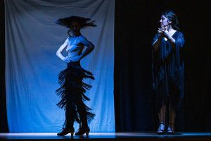 Flamencuria Obdulia Bustos - Dancing with my shadows - Foto Andrés Górriz